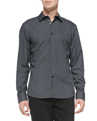 Square-Check Shirt