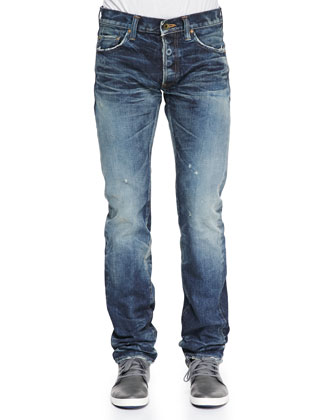 Demon Light Washed Jeans