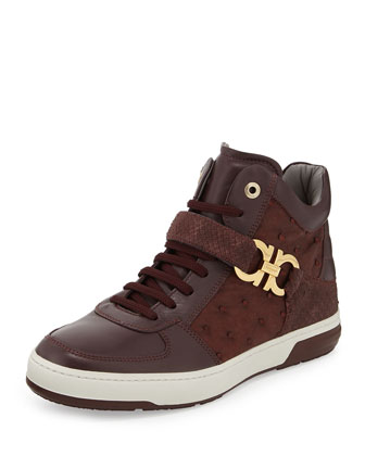Nayon Men's Exotic High-Top Sneaker
