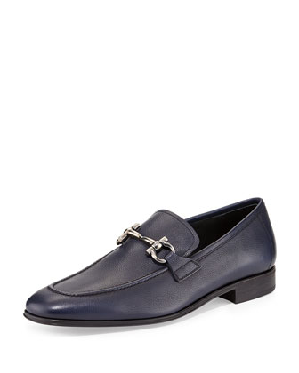 Rigel Leather Gancini Loafer