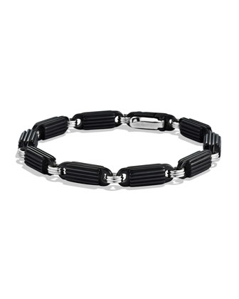 Royal Cord Link Bracelet