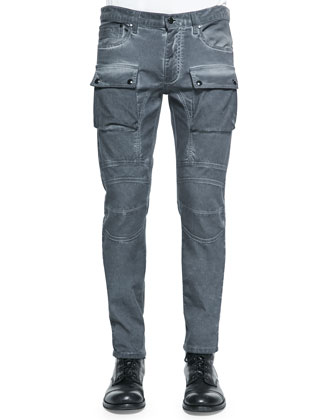 Felmore Two-Pocket Jeans, Gray