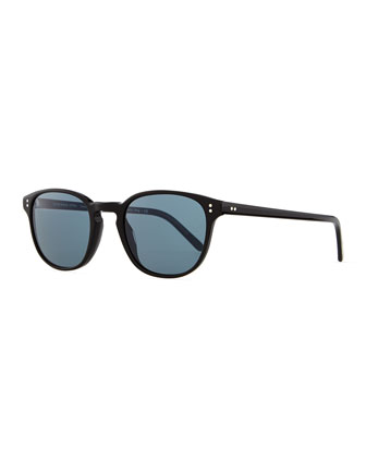 Fairmont Men's Acetate Sunglasses, Black