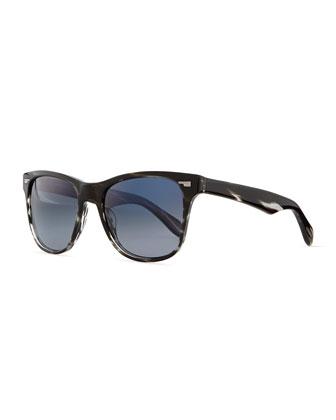 Men's Lou 54 Sunglasses, Ebonywood