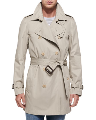 Kensington Double-Breasted Trenchcoat