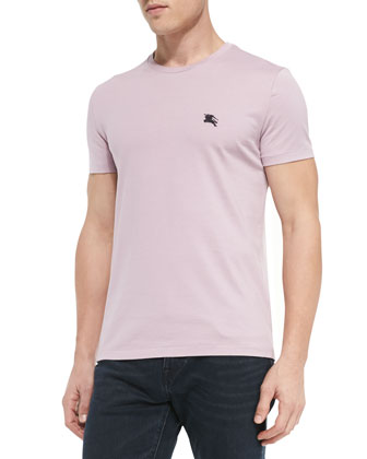 Equestrian Knight Jersey Tee, Light Purple