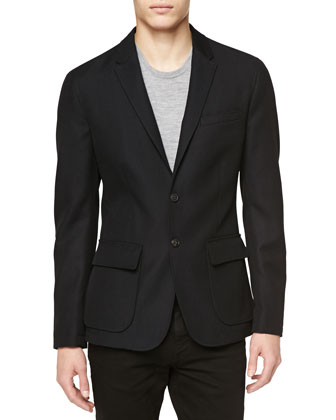 Patch-Pocket Blazer