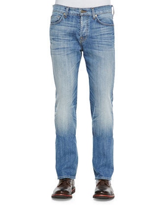 Standard Ojai Blue Jeans, Light Faded Blue