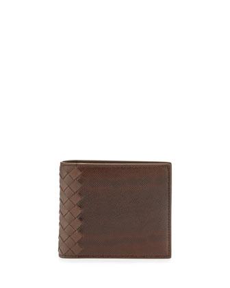 Karung Bi-Fold Wallet, Brown