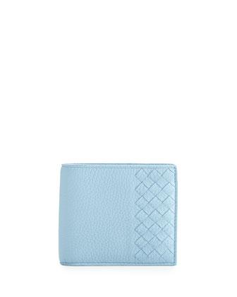 Chervo Bi-Fold Wallet, Light Blue