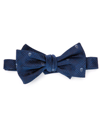 Prince Of Wales Bow Tie, Blue-Lt. Blue