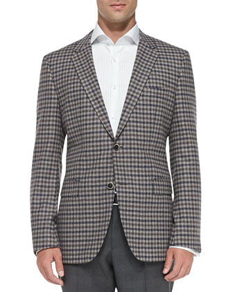 Mini-Check Sport Coat