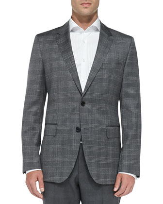 Moulin Plaid Sport Coat