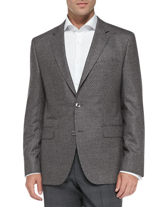 Dotted Jacquard Sport Coat