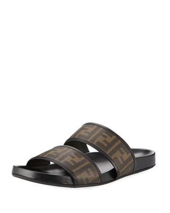 Two-Strap Zucca Slide Sandal