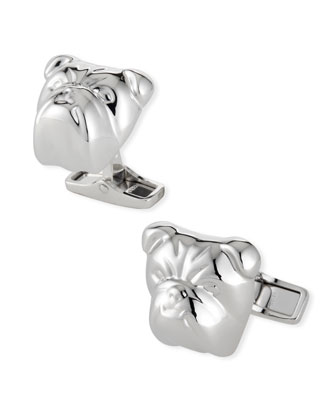Bulldog Cuff Links