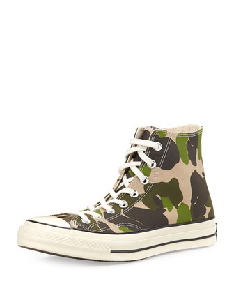 All Star Camo High-Top Sneaker
