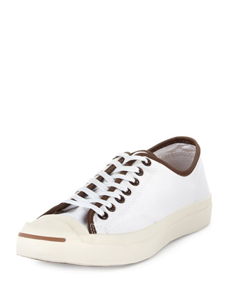 Jack Purcell Low-Profile Tortoise Sneaker, White