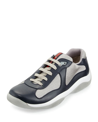 Punta Ala Leather Sneaker, Blue