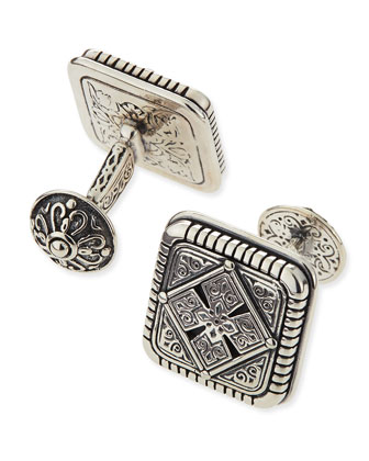 Maltese-Cross Cuff Links