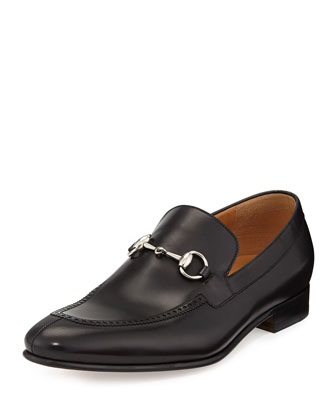 Kir Leather Horsebit Loafer