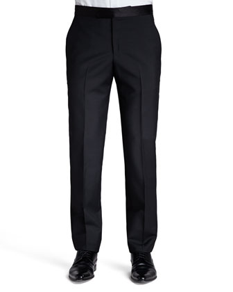 Velvet Tuxedo Jacket, Tuxedo Shirt & Tuxedo Pants