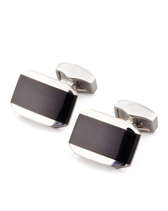 Hexagonal Cuff Links