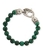 Malachite Beaded Bracelet