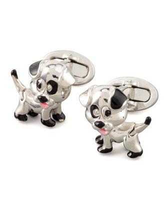Puppy Cuff Links