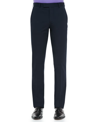 James Twill Pants, Navy