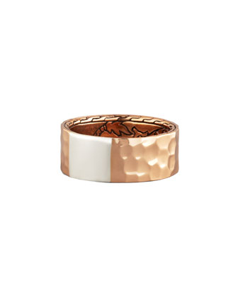 Palu Hammered Band Ring