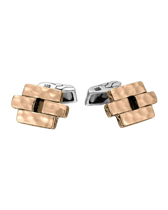 Palu Geometric Cuff Links