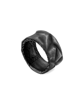 Naga Black Band Ring