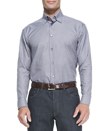 Fig Plaid Woven Shirt & Stelvio Dark Jeans