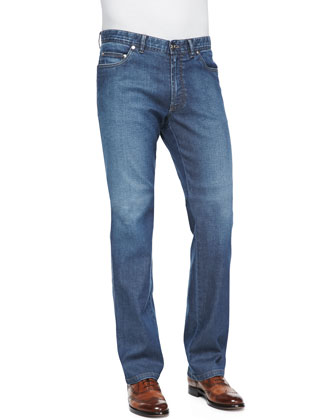 Five-Pocket Denim Jeans
