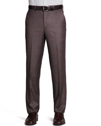 Italian Wool Pants, Mink