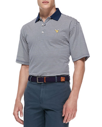 West Virginia University Gameday College Shirt Polo