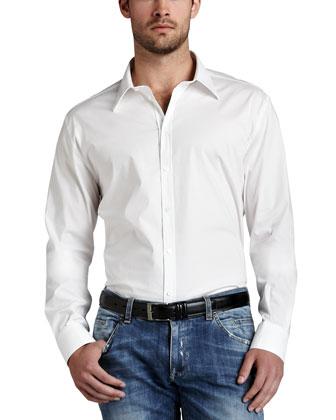 Basic Cotton Sport Shirt
