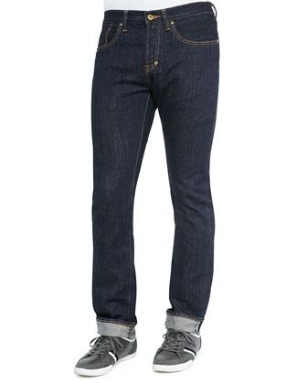 Demon 1-Year Pressed Rinse Jeans