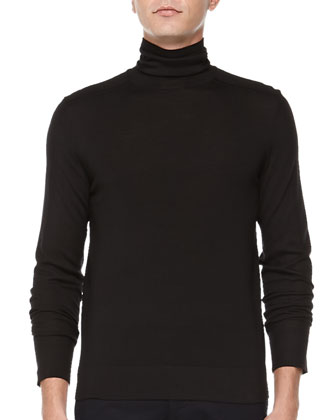 Nalles New Sovereign Turtleneck Sweater, Black