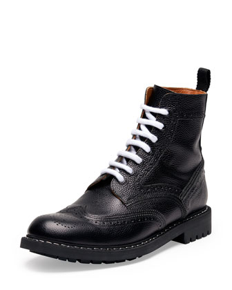 Commando Leather Runway Boot