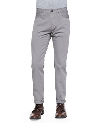 M3 Selvedge Twill Jeans, Olive