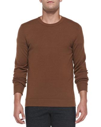 Cashmere Dermont Sweater, Camel