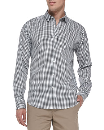 Zack PS Check Shirt, Green