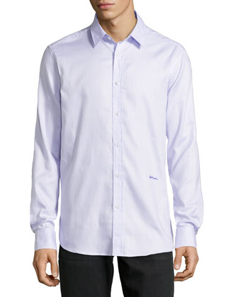 Long-Sleeve Dress Shirt, Rose Ancient