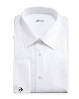 Triple-Track French-Cuff Shirt