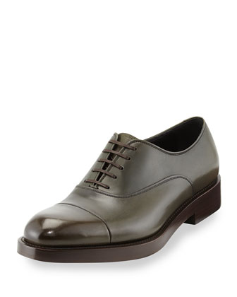 Pride Runway Cap-Toe Oxford
