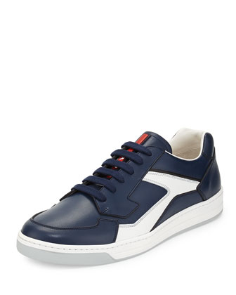 Low-Top Sneaker, Navy