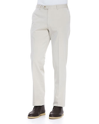 Four-Pocket Pants, Beige