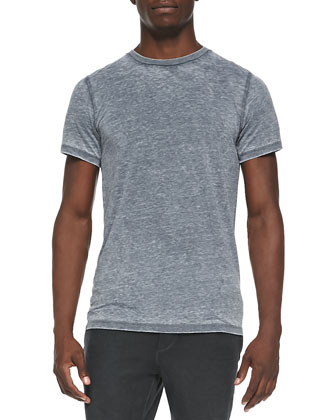 Sussa Burnout Tee, Gray